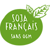 Sojade's organic soya is grown in France and guaranteed GMO-free.