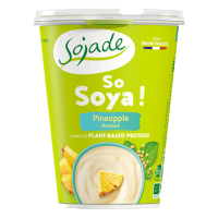 Pineapple Soya yogurt alternative 400g
