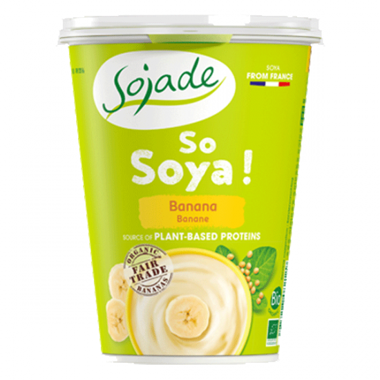 Banana Soya yogurt alternative 400g