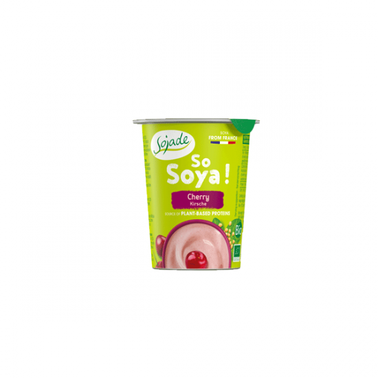 Cherry Soya yogurt alternative 125g