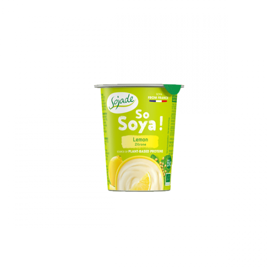Lemon Soya yogurt alternative 125g