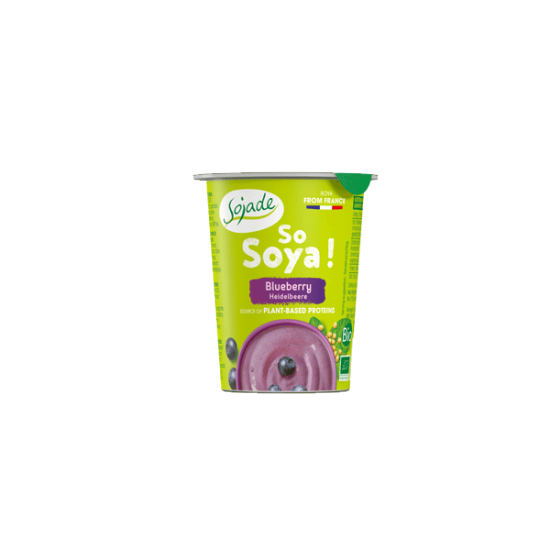 Blueberry Soya yogurt alternative 125g