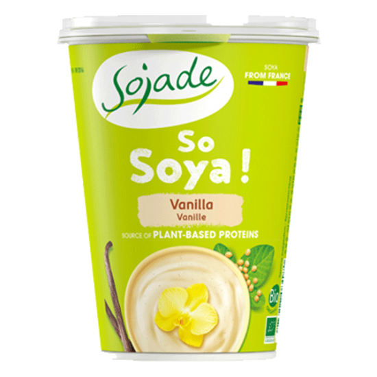 Vanilla Soya yogurt alternative 400g