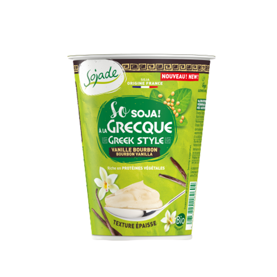 Vanilla Greek Style Soya Yogurt Alternative 400G